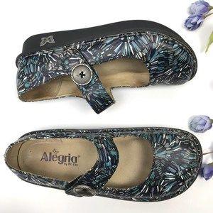 Alegria Leather Paloma Signature Nurse Mary Janes